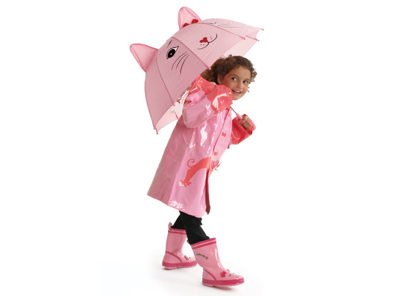 Known for its practicality and durability, kids umbrellas, kids rain boots